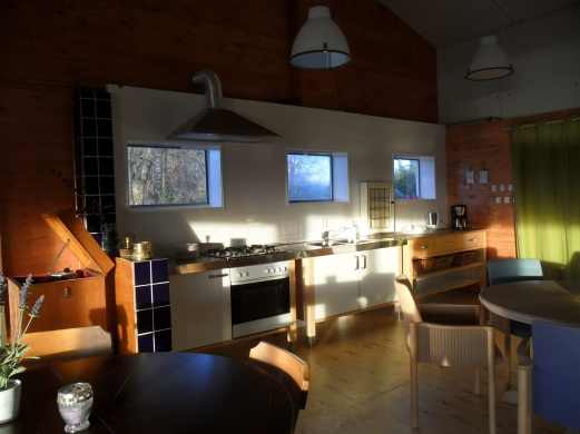 Groepsaccommodatie-Friesland-inkijkje in de groespruimte
