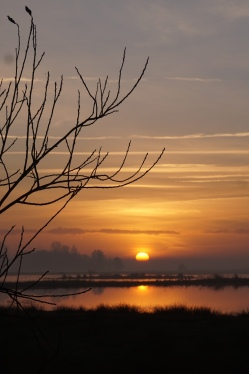 Groepsaccommodatie-Friesland-Zonsondergang in friesland
