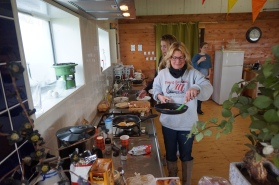 Groepsaccommodatie-Friesland-ruime keuken voor eigen gebruik