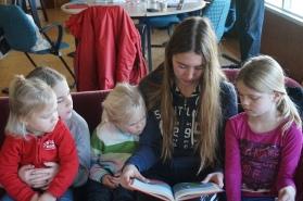 Groepsaccommodatie-Friesland-Tijd voor een verhaaltje